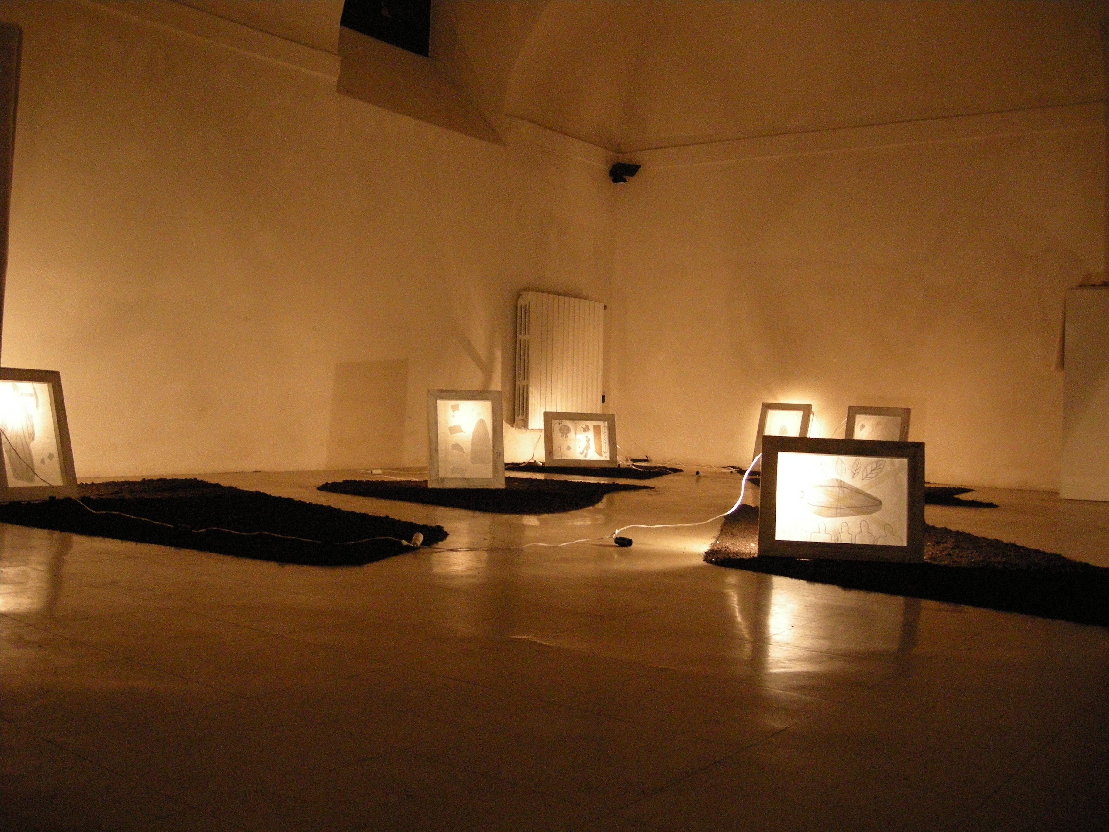 Installazione di Massimo Piunti