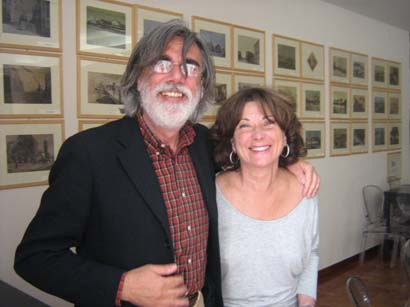 Enrico Sconci e Paola Marchegiani