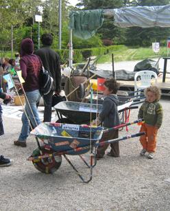 Manifestazione cittadina delle carriole