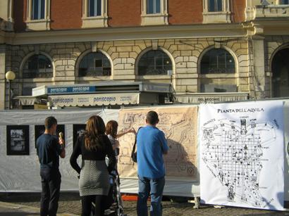 Esposizione del Muspac in Piazza Duomo
