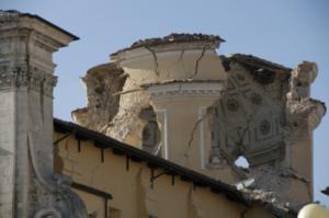 La cupola della chiesa delle Anime Sante
