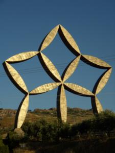 La stella di Pietro Consagra a Gibellina
