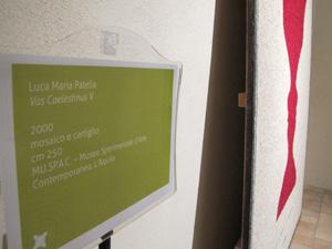 """Video di Fabio Mauri nell'installazione dell'opera """"Celestino V, una storia moderna"""", 2000"""