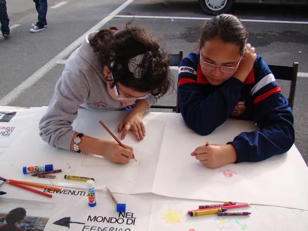 Laboratori didattici e artistici nei quartieri del progetto case
