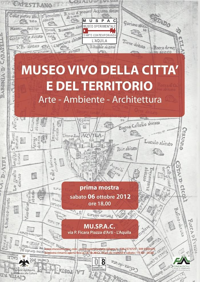 locandina mostra museo della città 6 ott 2012