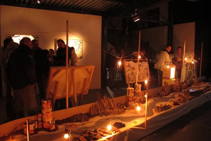 evento performativo di MASSIMO PIUNTI e MARIO IACOMINI sui Miti e le Memorie di questo Occidente