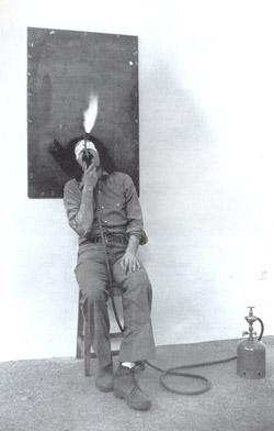 """Jannis KOUNELLIS """"Un capitano di quindici anni- I viaggi straordinari di Jules Verne, 1980, foto lito 78-300, 35x50cm."""