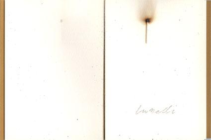 """KOUNELLIS """"La via del Sangue"""", edizione d'arte Collana di Perle"""