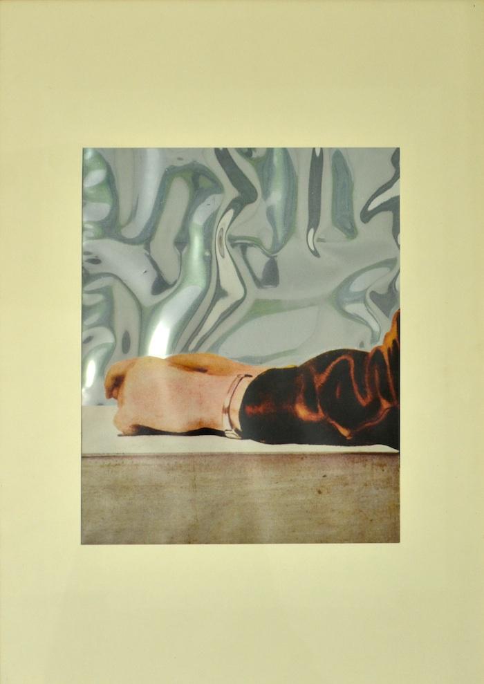"""Michelangelo Pistoletto, """"Il braccio"""", tavola in fototipia, 50x70 cm"""