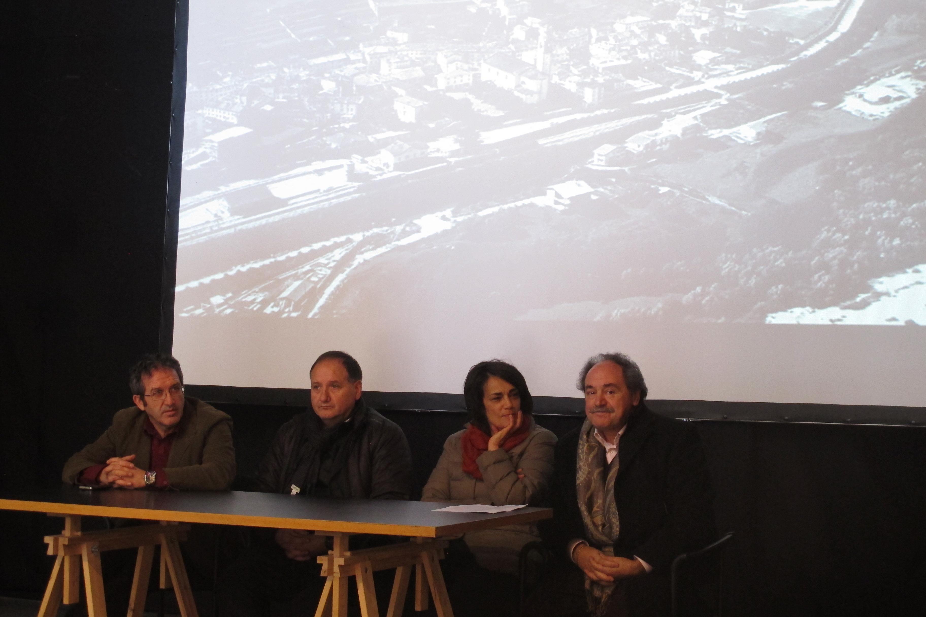 Partecipazione dell'inaugurazione della mostra