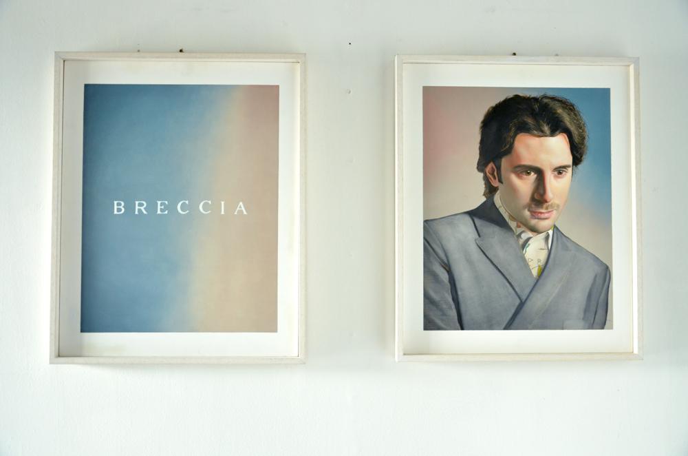"""Self-Portrait like Prada's Advertising"" Opera di Daniele Breccia"