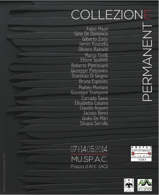 locandina mostra collezione_2014