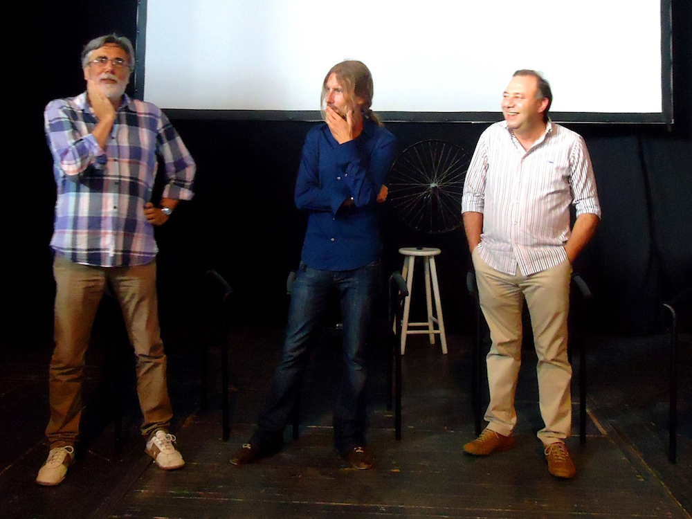 Da sinistra: Enrico Sconci, Andrea Domenico Taricco e Pierpaolo Mancinelli