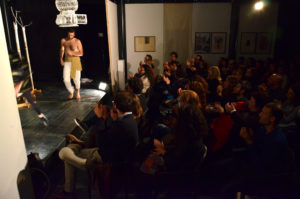 Pubblico presente allo spettacolo