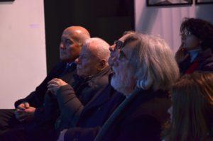 Achille Bonito Oliva e Enrico Sconci