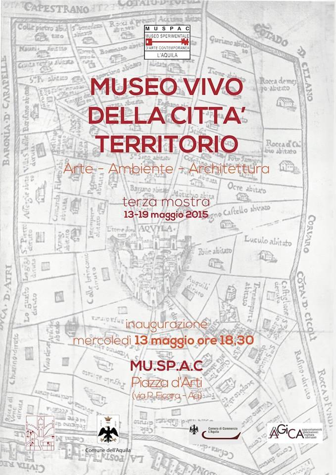locandina MUSEO VIVO DELLA CITTA' 13 maggio 2019
