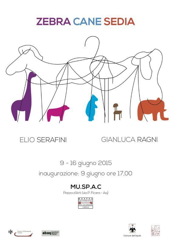 locandina zebra-cane-sedia_serafini-ragni_2015