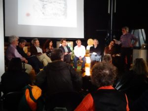 Presentazione della mostra con critici e docenti dell'Accademia di Belle Arti