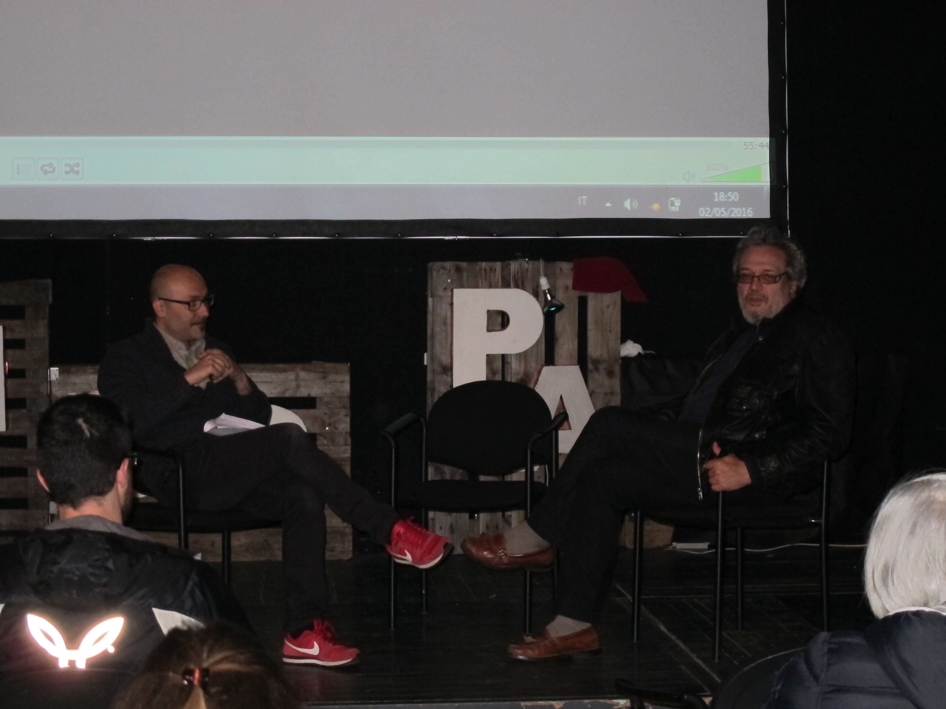 Presentazione del film con l'autore Emiliano Dante e il prof. Marcello Gallucci