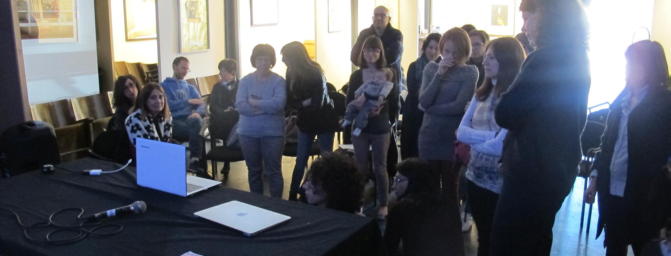 Associazione genitori di Montessori durante il workshop