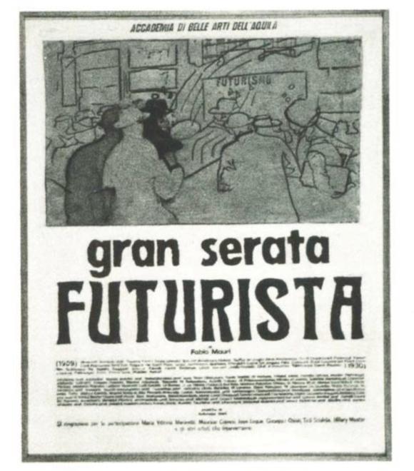Fabio Mauri, Gran Serata Futurista