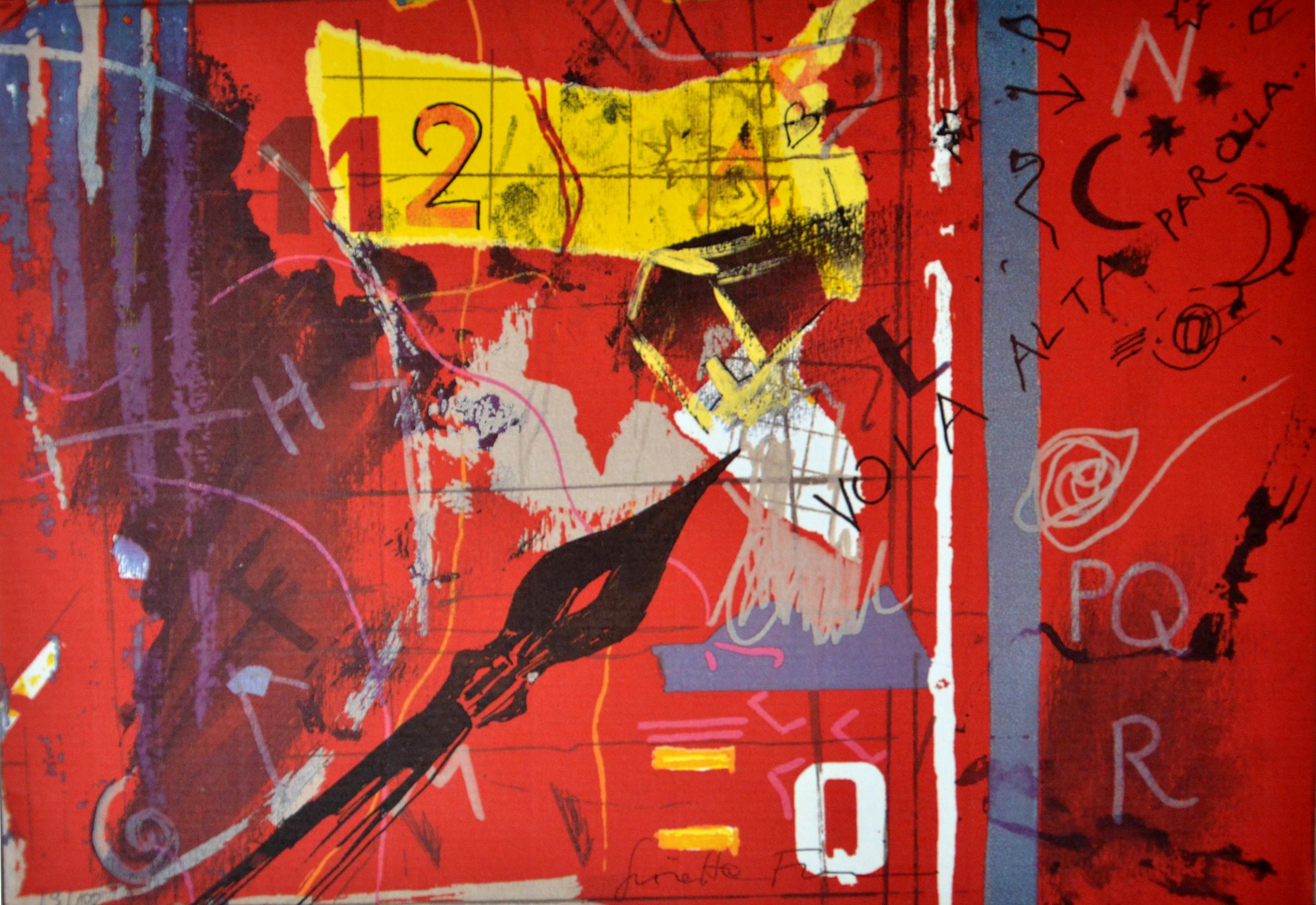 Fioroni Giosetta_senza titolo_litografia 18-100_24x34cm