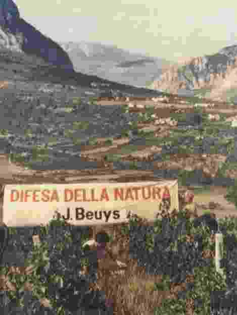 JOSEPH BEUYS, difesa della natura