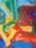 Luca Di Gregorio_senza titolo_pittura su carta su tavola_150x194cm_1991