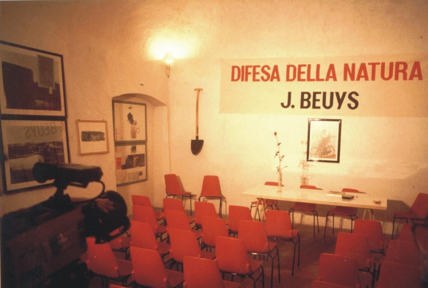 Mostra al Quarto di Santa Giusta su Joseph Beuys copia