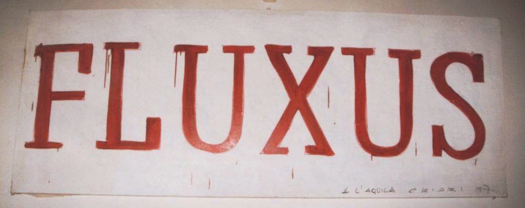 opera di Giuseppe Chiari, fluxus