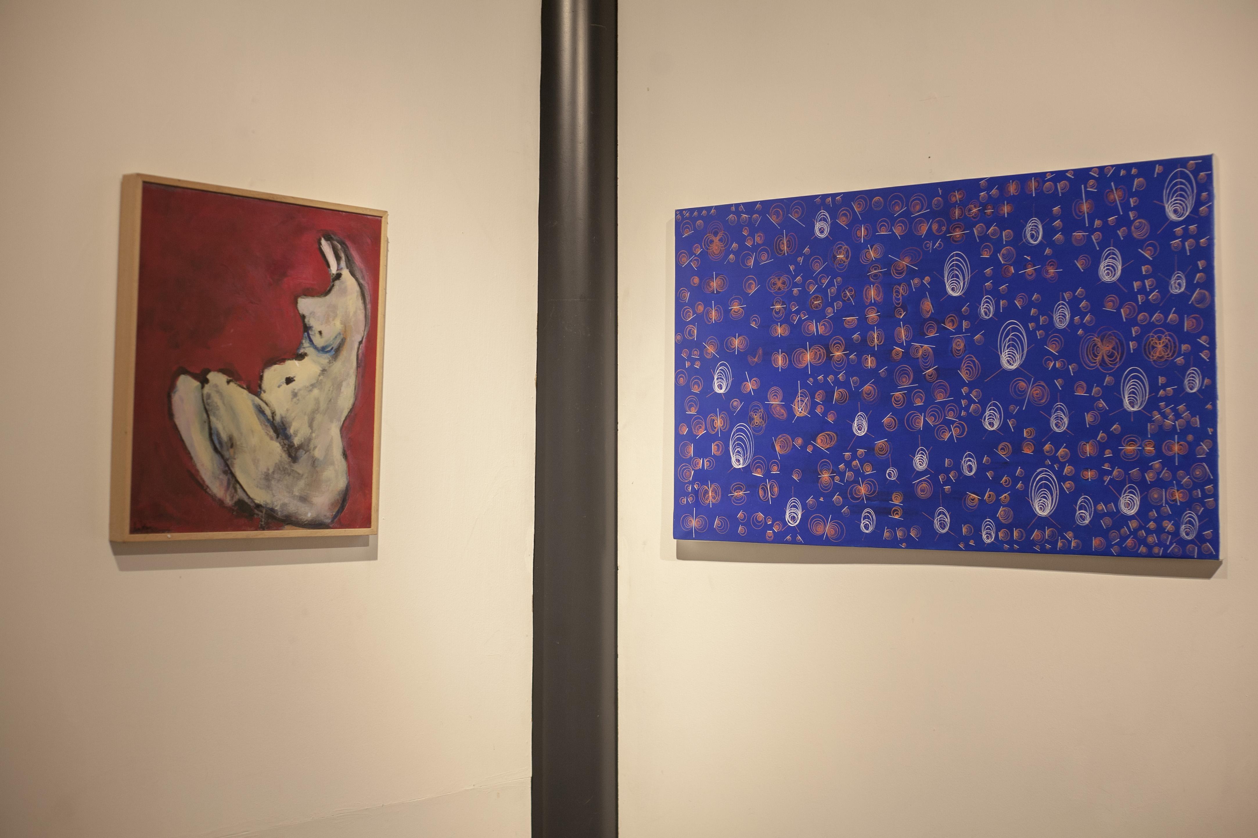 Gestante 1991, Bruno Sabatini - Transizione di Fase I 2010, Teresa Ilaria