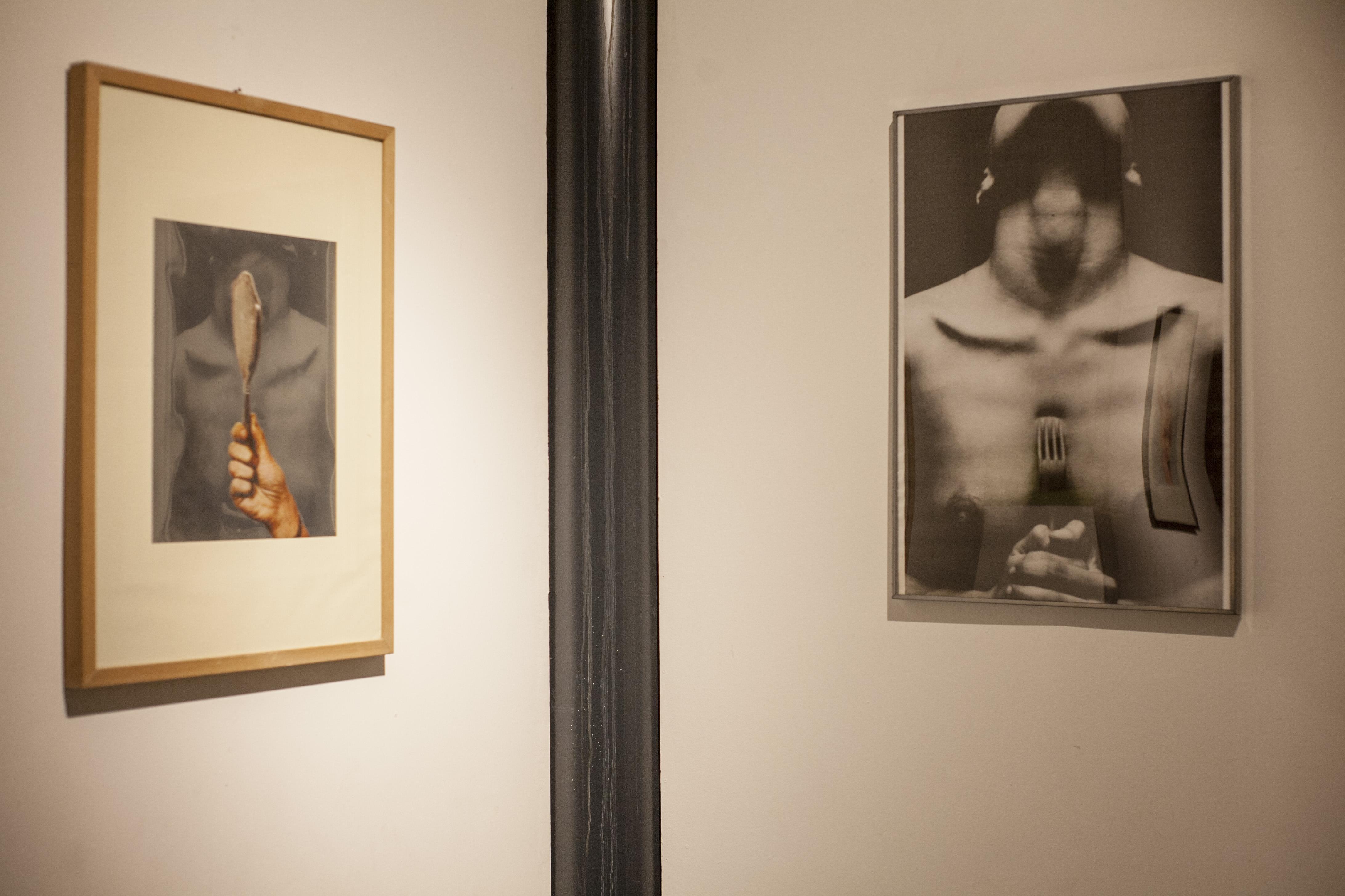 mano con specchio, 1981 Michelangelo Pistoletto - L'organico metafisico, 1985 Elisabetta Catamo