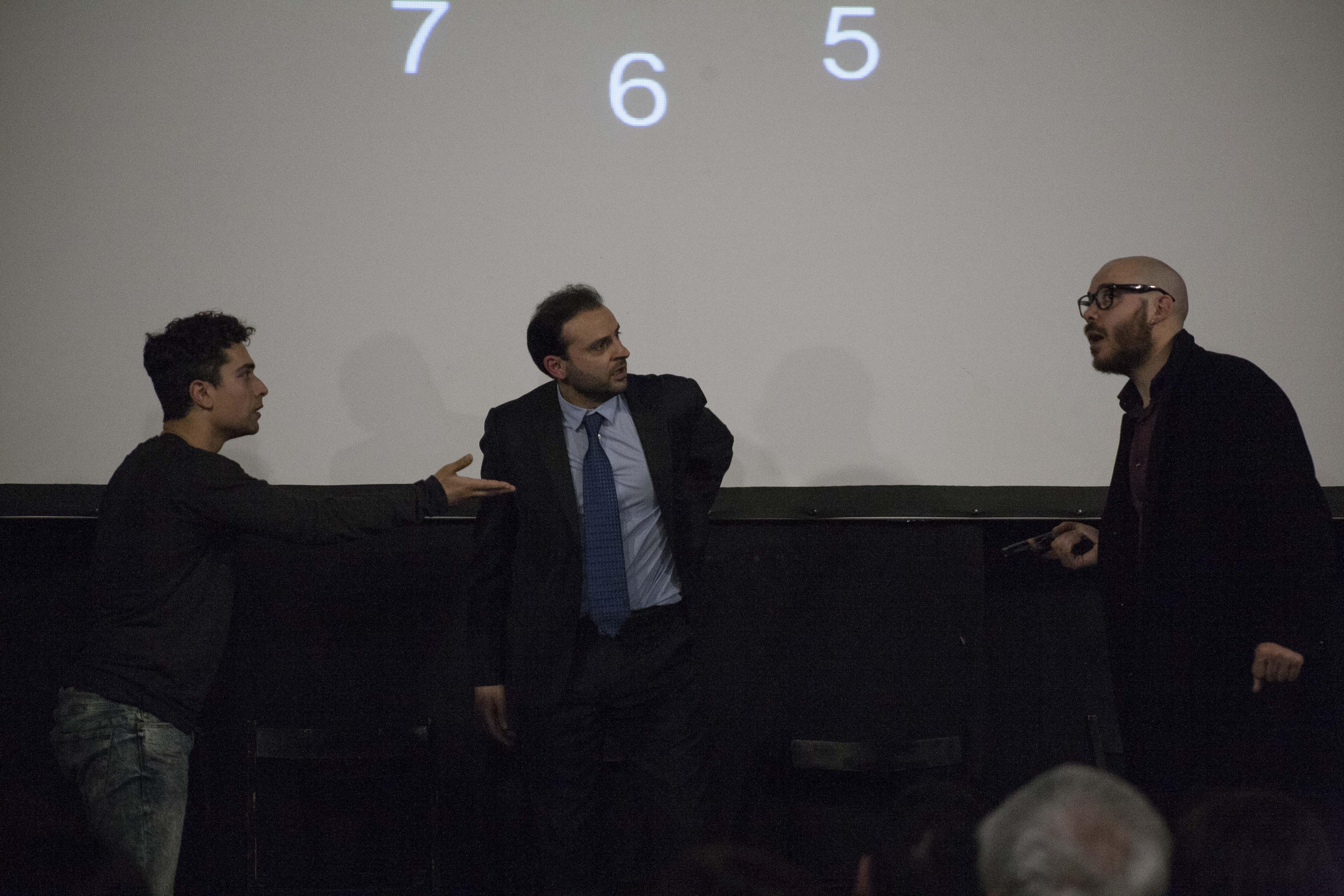 Luca Avallone, Simone Ruggiero e Alessandro Martorelli