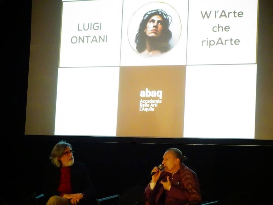 Enrico Sconci e Luigi Ontani