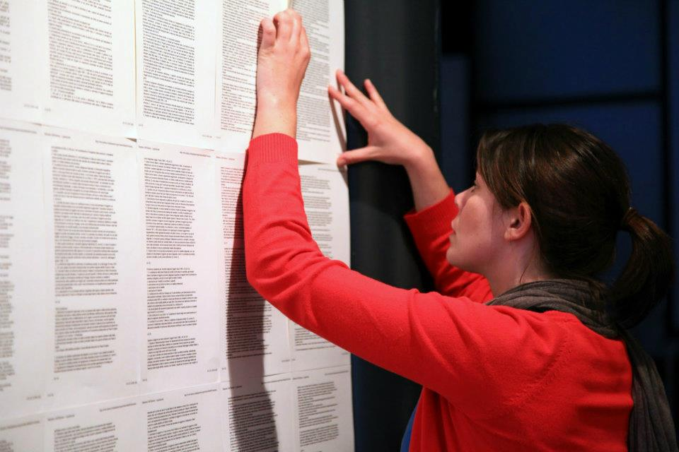 Installazione della mostra