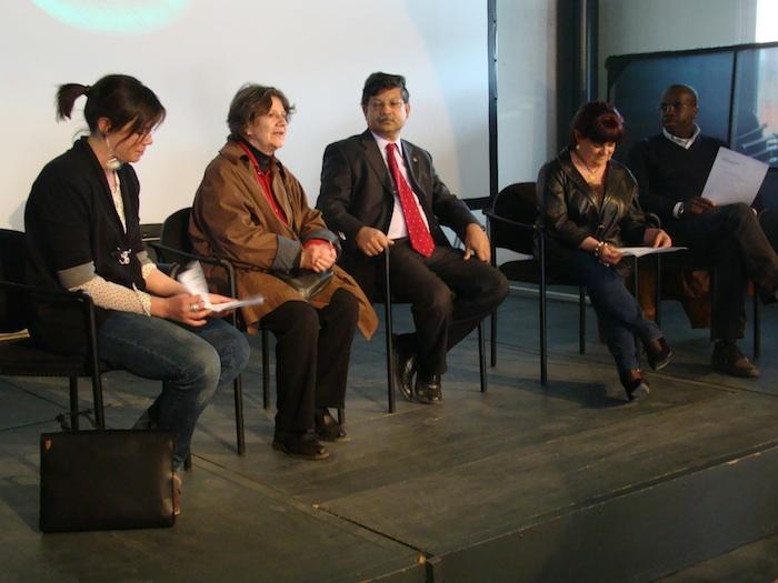 Martina Sconci, L'ambasciatore del Bangladesh Masud Bin Momen e la senatrice Stefania Pezzopane
