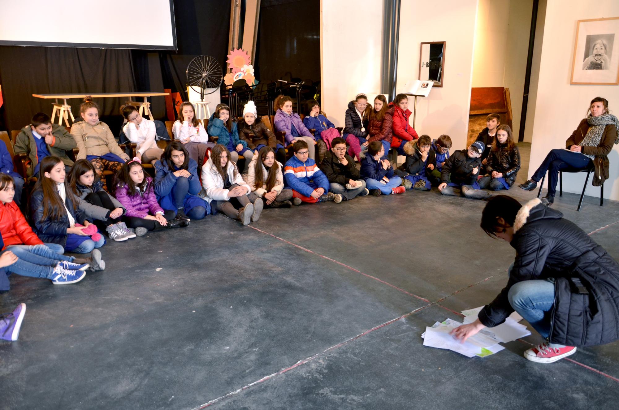 Laboratori didattici organizzati in collaborazione con le scuole aquilane