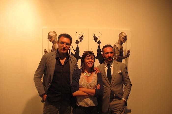 Alessandro Monticelli, Martina Sconci e Claudio Pagone
