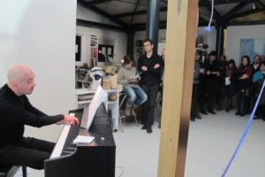 Francesco Prode al pianoforte