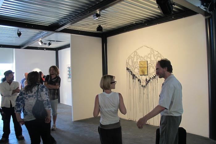 Foto della inaugurazione della mostra