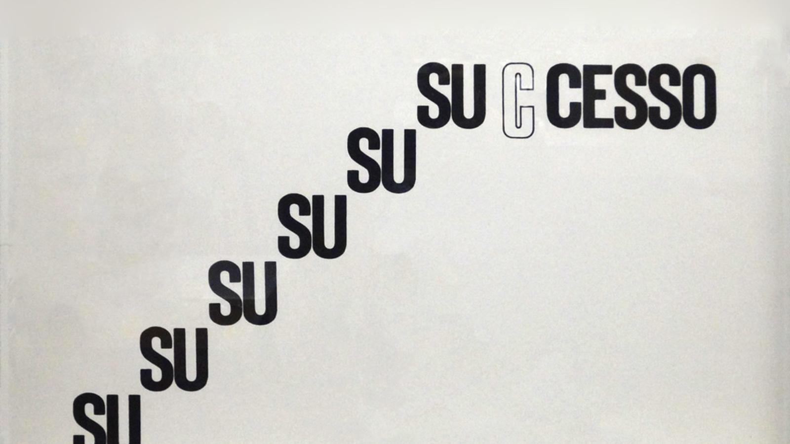 Mirella Bentivoglio, Successo, litografia, 1969