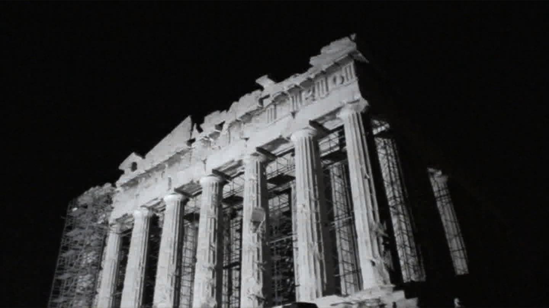 Bill Balaskas, Parthenon Rising II, 2011, VideoStill, Kalfayan Galleries