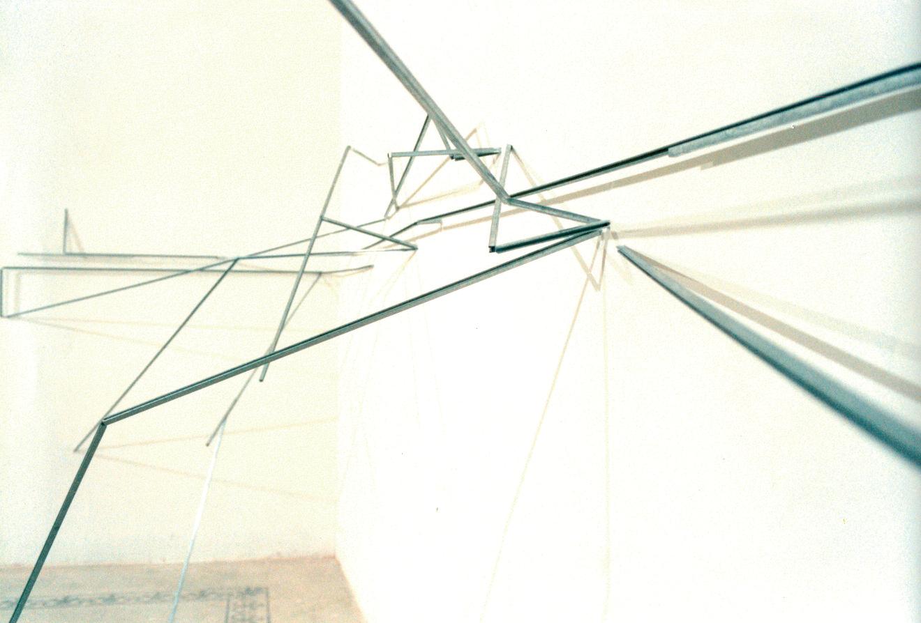 """""""Percorsi Possibili"""", particolare dell'installazione, 1997"""