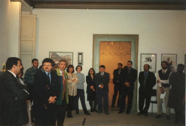 L'Assessore alla cultura del Comune dell'Aquila, Alfredo Moroni, presenta la manifestazione
