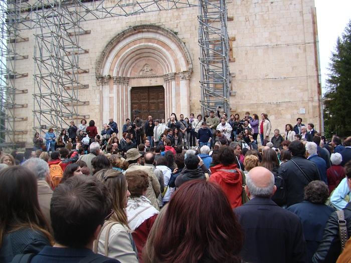 Gli storici dell'Arte d'Italia all'Aquila dopo il sisma