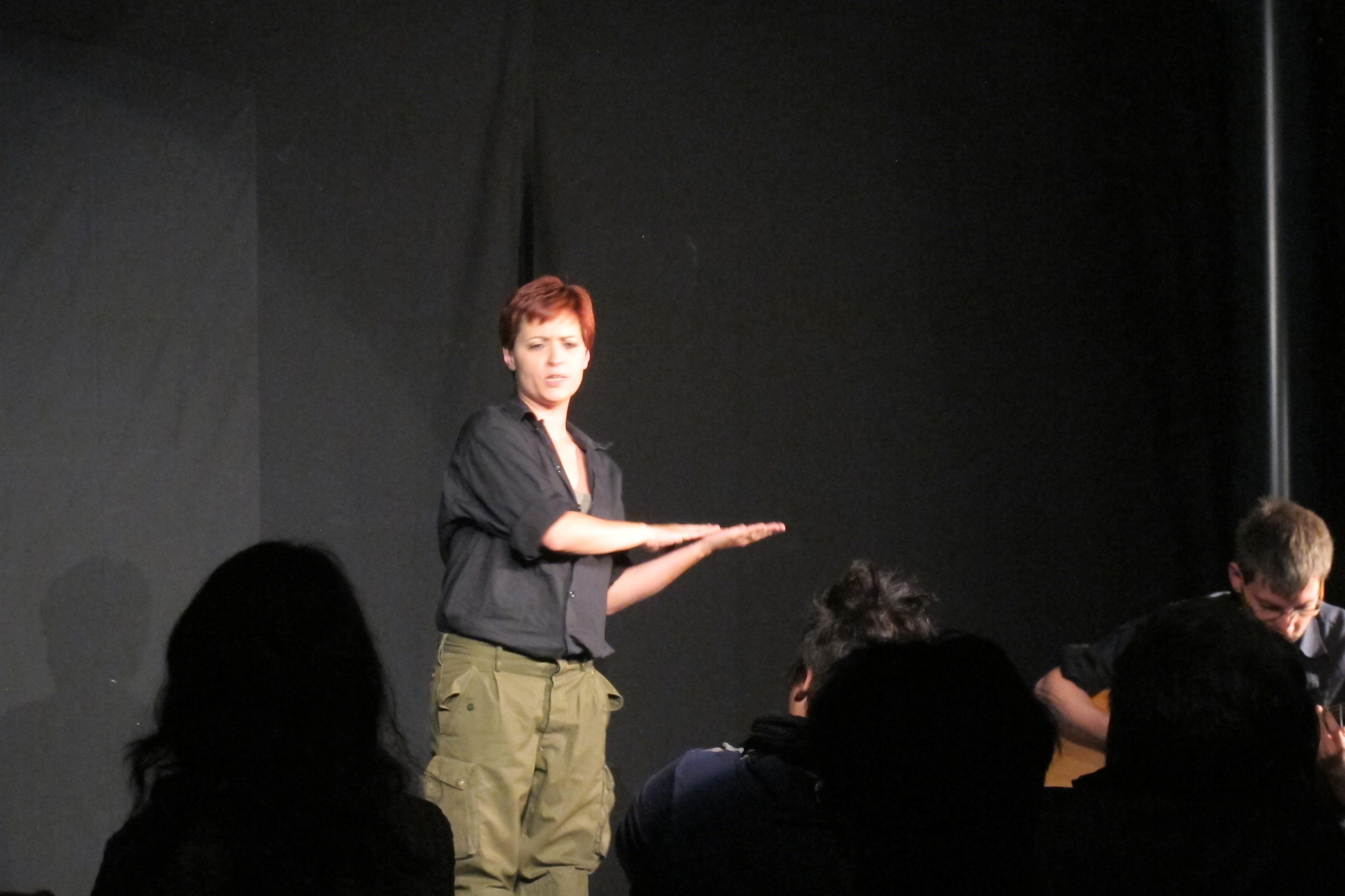 spettacolo teatrale con Sara Greco Valerio