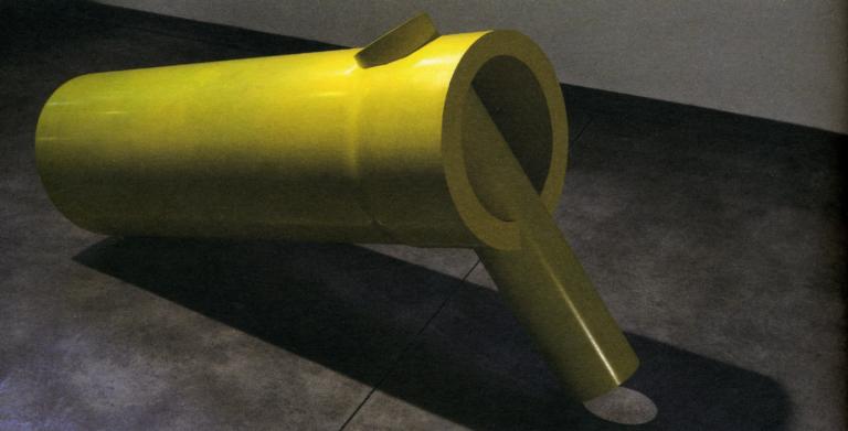 Alberto Timossi_Inserti 6.07_150x70x42cm_PVC, poliuretano_2007_HI